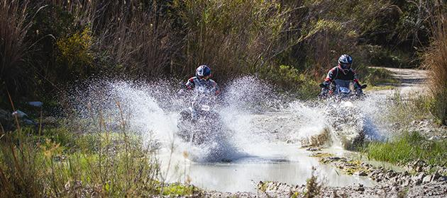Off-road-tours: If motorcycling gets a taste of adventure